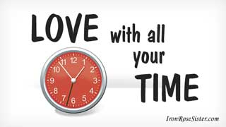 love with all your time